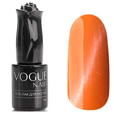 Vogue Nails, Гель-лак кошачий глаз - Персидский коралл №032 (10 мл.)Vogue Nails<br>Гель-лак,светло-оранжевый, с серебряным перламутром, плотный<br>