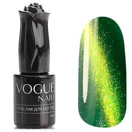 Vogue Nails, Гель-лак кошачий глаз - Сокровища Клеопатры №024 (10 мл.)Vogue Nails<br>Гель-лак,травянисто-зеленый, с золотистым перламутром, полупрозрачный<br>