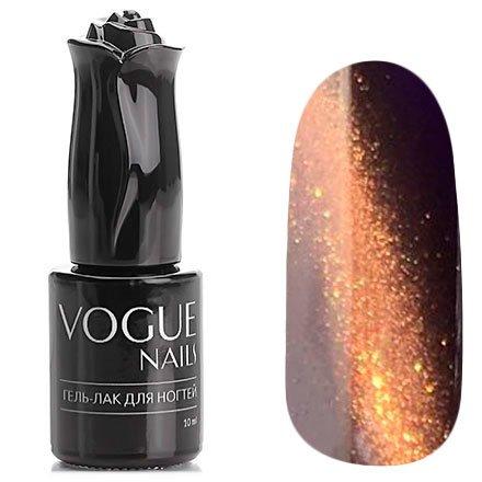 Vogue Nails, Гель-лак кошачий глаз - Ящик Пандоры №027 (10 мл.)Vogue Nails<br>Гель-лак, черничный, с золотым микроперламутром, плотный<br>