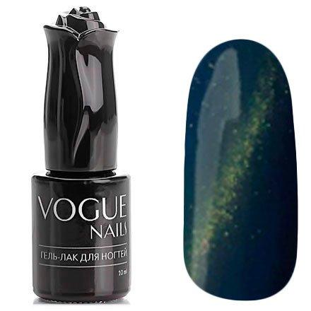 Vogue Nails, Гель-лак кошачий глаз - Ирида №043 (10 мл.)Vogue Nails<br>Гель-лак,синий океан, с золотистым перламутром, плотный<br>