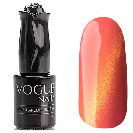Vogue Nails, Гель-лак кошачий глаз - Химера №048 (10 мл.)Vogue Nails<br>Гель-лак,светло-розовый, с золотым перламутром, плотный<br>