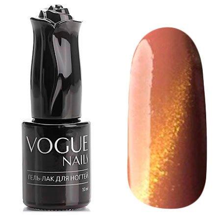 Vogue Nails, Гель-лак кошачий глаз - Илифия №050 (10 мл.)Vogue Nails<br>Гель-лак,песочно-рыжий, с золотыми микроблестками, плотный<br>