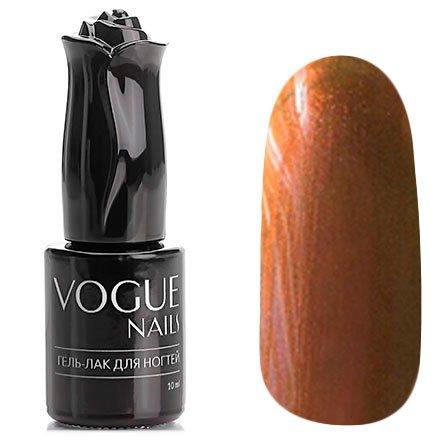 Vogue Nails, Гель-лак хамелеон - Осенний рассвет №014 (10 мл.)Vogue Nails<br>Гель-лак,хаки/болотный с бронзовым отливом, перламутровый, полупрозрачный<br>