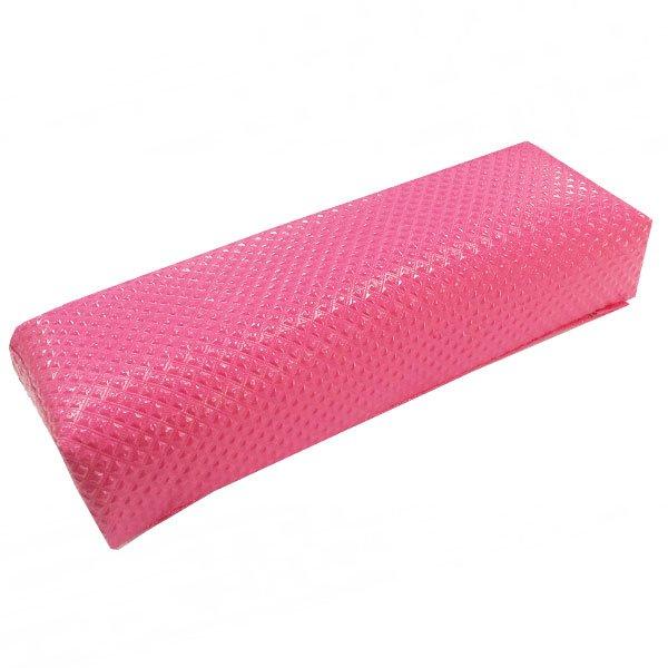 TNL, Подлокотник кожаный для рук (маленький ромб, розовый)Сопутствующие материалы<br>Подлокотник для рук – обеспечивает максимальный комфорт клиенту и удобство мастеру при процедуре маникюра или наращивания ногтей.<br>