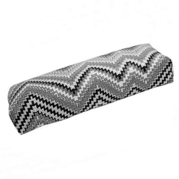 TNL, Подлокотник кожаный для рук (Восточная мозайка, серая) (TNL Professional (Корея))