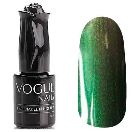 Vogue Nails, Гель-лак хамелеон - Туманное утро №016 (10 мл.)Vogue Nails<br>Гель-лак,темно-оливковый/зеленый, с серыми микроблестками, полупрозрачный<br>