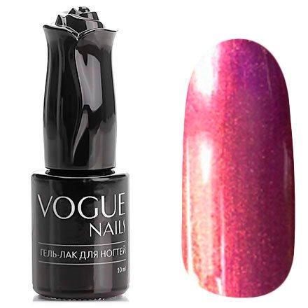 Vogue Nails, Гель-лак хамелеон - Восход солнца №020 (10 мл.)Vogue Nails<br>Гель-лак,фиолетовый/розово-фиолетовый, с фиолетовыми микроблестками, плотный<br>