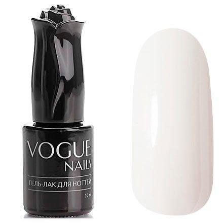 Vogue Nails, Гель-лак - Снежная лавина №101 (10 мл.)Vogue Nails<br>Гель-лак,белый, без блесток и перламутра, плотный<br>