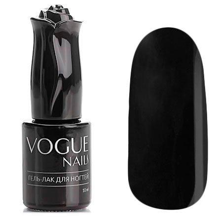 Vogue Nails, Гель-лак - Черный властелин №102 (10 мл.)Vogue Nails<br>Гель-лак,черный, без блесток и перламутра, плотный<br>