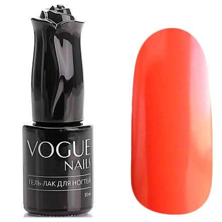 Vogue Nails, Гель-лак - Огненная лиса №103 (10 мл.)Vogue Nails<br>Гель-лак,ярко-морковный, без блесток и перламутра, плотный<br>