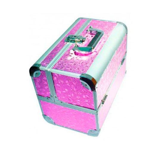 TNL, Кейс маникюриста, розовый (металл)Сопутствующие материалы<br>Для хранения маникюрных и педикюрных инструментов.<br>