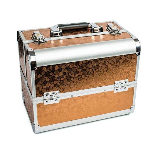 TNL, Кейс маникюриста, коричневый (металл)Сопутствующие материалы<br>Для хранения маникюрных и педикюрных инструментов.<br>