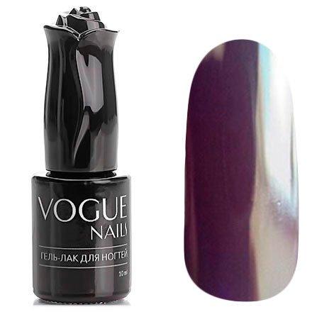 Vogue Nails, Гель-лак - Черничное варенье №110 (10 мл.)Vogue Nails<br>Гель-лак, черно-фиолетовый, без блесток и перламутра, плотный<br>