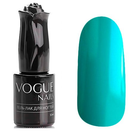 Vogue Nails, Гель-лак - Летний бриз №117 (10 мл.)Vogue Nails<br>Гель-лак,насыщенный бирюзовый, без блесток и перламутра, плотный<br>