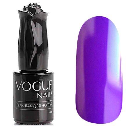 Vogue Nails, Гель-лак - Фиалковый блюз №120 (10 мл.)Vogue Nails<br>Гель-лак,темно-сиреневый, без блесток и перламутра. плотный<br>