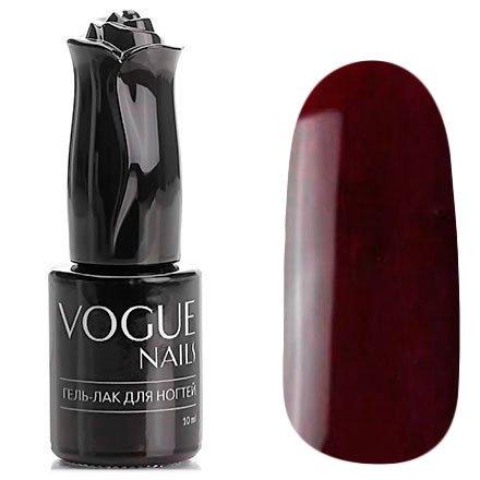 Vogue Nails, Гель-лак - Французский поцелуй №126 (10 мл.)Vogue Nails<br>Гель-лак,бордово-винный, без блесток и перламутра, полупрозрачный<br>