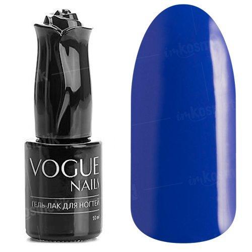 Vogue Nails, Гель-лак - Популярный синий №127 (10 мл.)Vogue Nails<br>Гель-лак,ультрамарин, без блесток и перламутра, плотный<br>