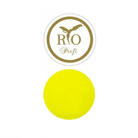 Rio Profi, Акриловая пудра Термо эффект (желтая, 3 гр.)Акриловая пудра Rio Profi<br>Меняет интенсивность цвета, от нежно светлого(тепло) до яркого и насыщенного(холод).<br>
