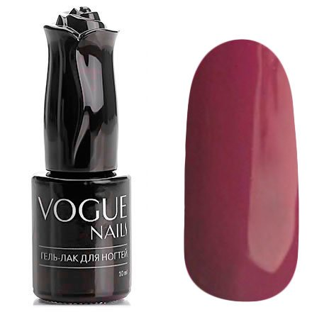 Vogue Nails, Гель-лак - Служебный роман №133 (10 мл.)Vogue Nails<br>Гель-лак,светло-бордовый, без блесток и перламутра, плотный<br>