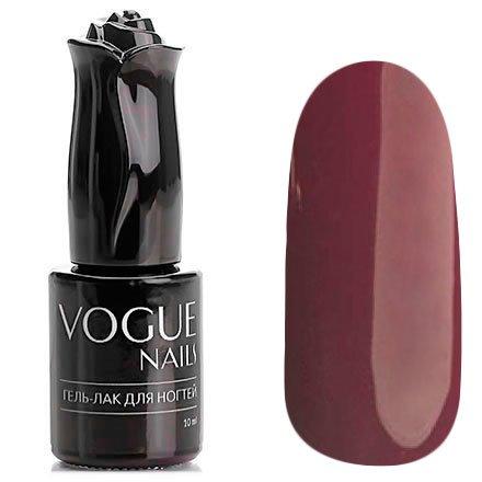 Vogue Nails, Гель-лак - Женская тайна №134 (10 мл.)Vogue Nails<br>Гель-лак,приглушенный сливовый, без блесток и перламутра, плотный<br>