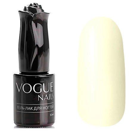 Vogue Nails, Гель-лак - Жемчужные бусы №154 (10 мл.)Vogue Nails<br>Гель-лак, жемчужно-молочный, без блесток и перламутра, плотный<br>