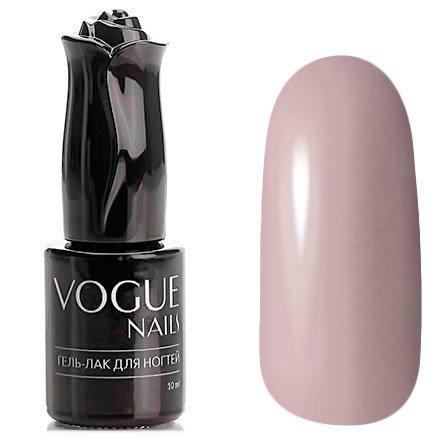 Vogue Nails, Гель-лак - Кожаная юбка №159 (10 мл.)Vogue Nails<br>Гель-лак, серо-бежево-розовый, без блесток и перламутра, плотный<br>