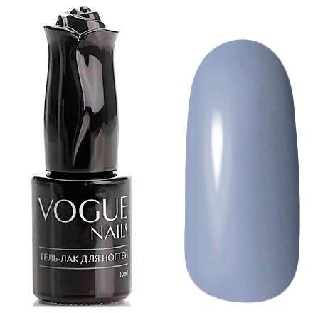 Vogue Nails, Гель-лак - Джинсовый жакет №164 (10 мл.)Vogue Nails<br>Гель-лак, серо-голубой, без блесток и перламутра, плотный<br>