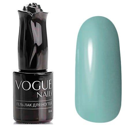 Vogue Nails, Гель-лак - Атласная косынка №165 (10 мл.)Vogue Nails<br>Гель-лак, серо-голубой, без блесток и перламутра, плотный<br>