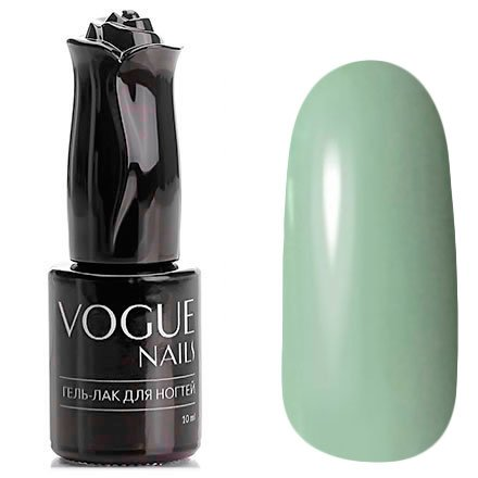 Vogue Nails, Гель-лак - Клатч из питона №166 (10 мл.)Vogue Nails<br>Гель-лак, серо-мятный, приглушенный, без блесток и перламутра, плотный<br>