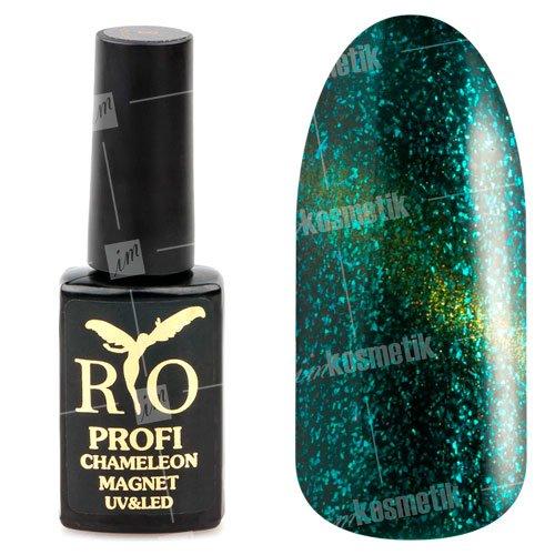 Rio Profi, Гель-лак - Сияющий Магнитный Кошачий глаз №7 (7 мл.) (RIO Profi (Россия))