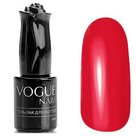 Vogue Nails, Гель-лак - Фламенко №169 (10 мл.)Vogue Nails<br>Гель-лак, красный, без блесток и перламутра, плотный<br>