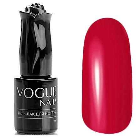 Vogue Nails, Гель-лак - Самба №170 (10 мл.)Vogue Nails<br>Гель-лак, красный с розовым подтоном, без блесток и перламутра, плотный<br>