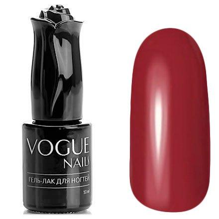 Vogue Nails, Гель-лак - Румба №173 (10 мл.)Vogue Nails<br>Гель-лак, цвета темной чайной розы, без блесток и перламутра, плотный<br>