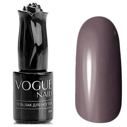 Vogue Nails, Гель-лак - Трюфельный торт №186 (10 мл.)Vogue Nails<br>Гель-лак, бежево-серый, без блесток и перламутра, плотный<br>