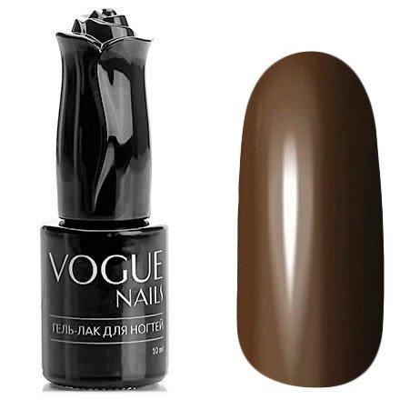 Vogue Nails, Гель-лак - Горький шоколад №191 (10 мл.)Vogue Nails<br>Гель-лак, темно-коричневый, приглушенный, без блесток и перламутра, плотный<br>