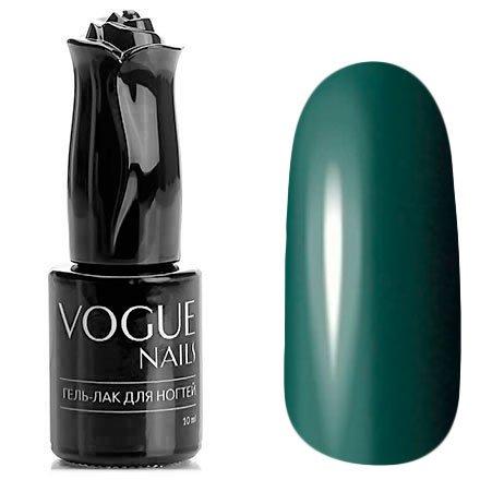 Vogue Nails, Гель-лак - Зеленый чай №192 (10 мл.)Vogue Nails<br>Гель-лак, болотно-зеленый, без блесток и перламутра, плотный<br>