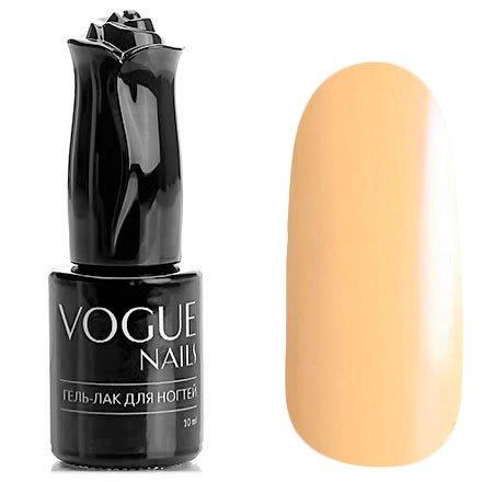 Vogue Nails, Гель-лак - Нежный персик №201 (10 мл.)Vogue Nails<br>Гель-лак, персиковый, без блесток и перламутра, плотный<br>