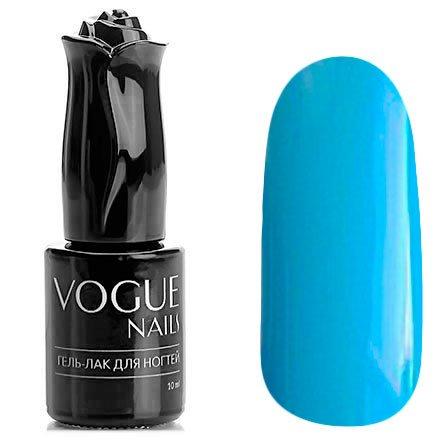 Vogue Nails, Гель-лак - Лесная голубика №206 (10 мл.)Vogue Nails<br>Гель-лак, насыщенный голубой, без блесток и перламутра, плотный<br>