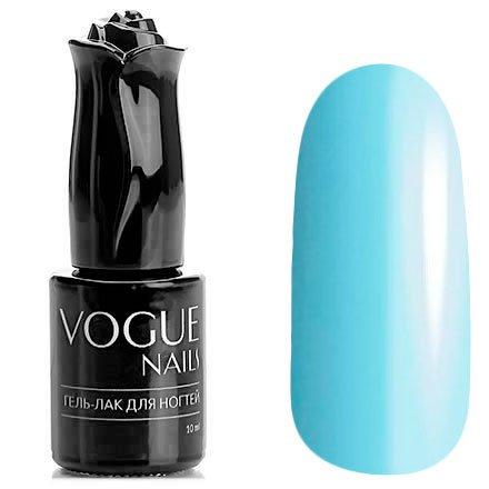 Vogue Nails, Гель-лак - Голубая лагуна №214 (10 мл.)Vogue Nails<br>Гель-лак, голубой, без блесток и перламутра, плотный<br>