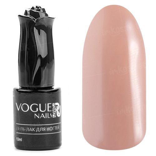 Vogue Nails, Гель-лак - Гляссе №304 (10 мл.)Vogue Nails<br>Гель-лак, светло-бежевый, без блесток и перламутра, плотный<br>