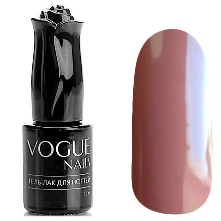 Vogue Nails, Гель-лак - Эспрессо №307 (10 мл.)Vogue Nails<br>Гель-лак, светло-коричневый, кофе с молоком, без блесток и перламутра, плотный<br>