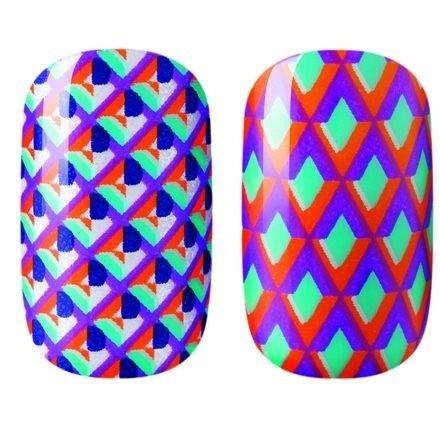 Dashing Diva, Geo-MagneticАрт-стикеры Dashing Diva <br>Арт-стикеры для дизайна ногтей.<br>