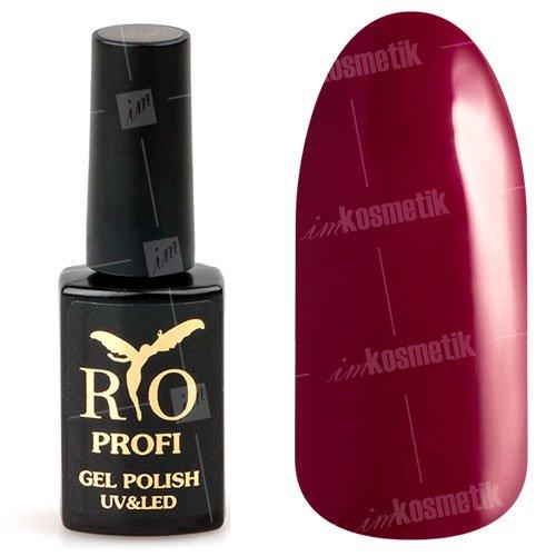 Rio Profi, Гель-лак каучуковый - Роскошный Пион №65 (7 мл.)Rio Profi<br>Гель-лак каучуковый, роскошный пион, глянцевый, плотный<br>