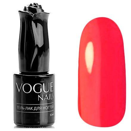Vogue Nails, Гель-лак - Гавайи №502 (10 мл.)Vogue Nails<br>Гель-лак, красно-оранжевый, неоновый,плотный<br>
