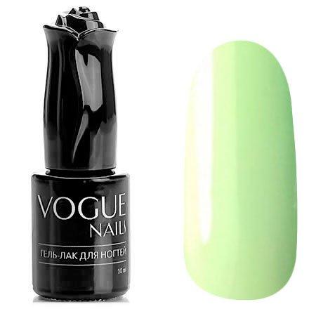 Vogue Nails, Гель-лак - Ожидание №602 (10 мл.)Vogue Nails<br>Гель-лак, светло-зеленый, без блесток и перламутра, плотный<br>