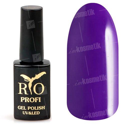 Rio Profi, Гель-лак каучуковый - Анютины глазки №97 (7 мл.)Rio Profi<br>Гель-лак каучуковый, цвета анютины глазки, плотный, глянцевый<br>