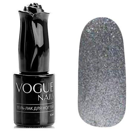 Vogue Nails, Гель-лак - Зеркальный шар №707 (10 мл.)Vogue Nails<br>Гель-лак,серебряный, с блестками, плотный<br>