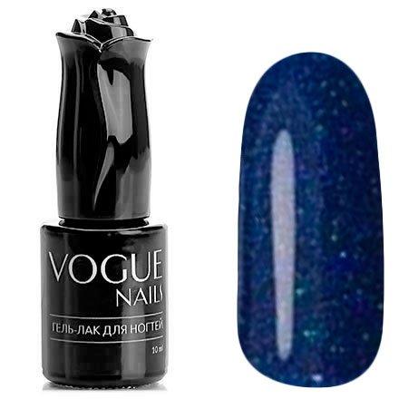 Vogue Nails, Гель-лак - Ледовый дворец №711 (10 мл.)Vogue Nails<br>Гель-лак,синий, с блестками, плотный<br>