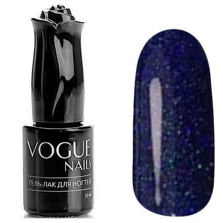 Vogue Nails, Гель-лак - Бенгальская свеча №712 (10 мл.)Vogue Nails<br>Гель-лак,сине-фиолетовый, с блестками, плотный<br>