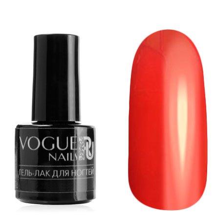 Vogue Nails, Гель-лак витражный - Красный №718 (6 мл.)Vogue Nails<br>Гель-лак, красный, без блесток и перламутра, полупрозрачный<br>
